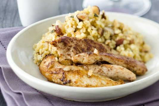 Simon Rimmer's cinnamon chicken recipe