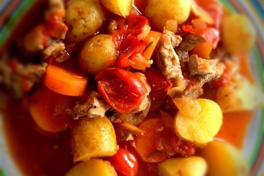 Simple lamb stew recipe