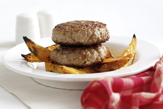 Spiced pork burgers recipe