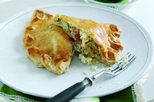 Goats' cheese pasty recipe