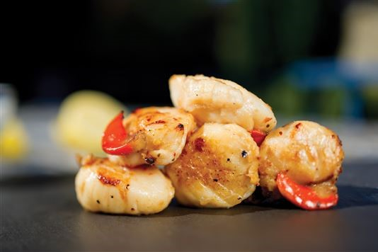 Thai scallops recipe