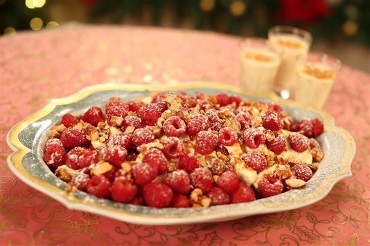 Croquante with mascarpone cream recipe