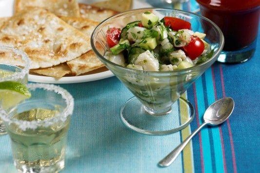 Thomasina Miers' Mexican aguachile recipe