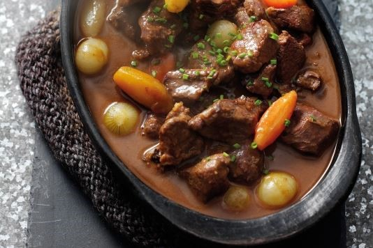 Winter venison stew recipe