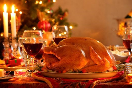 British Christmas eating already embraces many `foreign' traditions, but we've plenty more to go at.